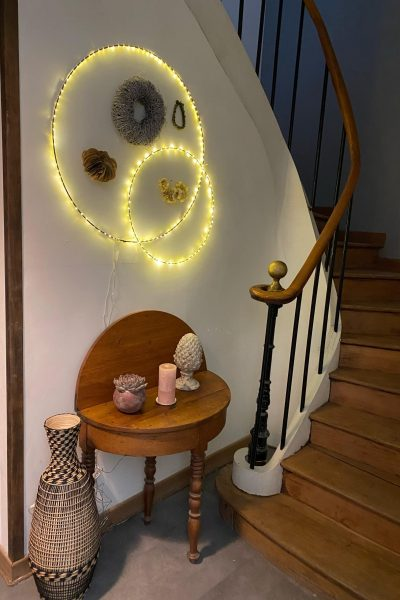 escalier table decoration armandii