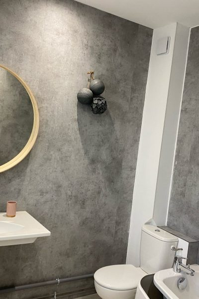 salle de bain a lombre d'armandii